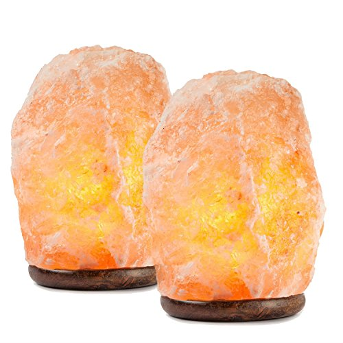 Hemingweigh Himalayan Glow Hand Carved Natural Crystal Himalayan Salt
