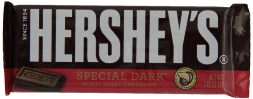 $23.55 HERSHEY'S SPECIAL DARK Mildly Sweet Chocolate Bar (1.45-Ounce Bars