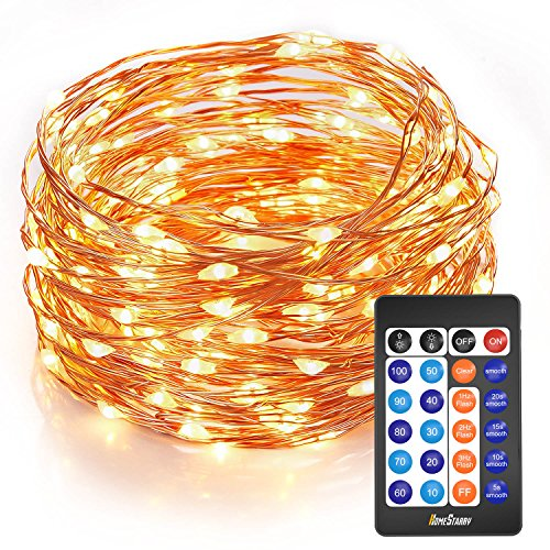 Homestarry Outdoor String Lights,Dimmable LED Starry String lights Perfect