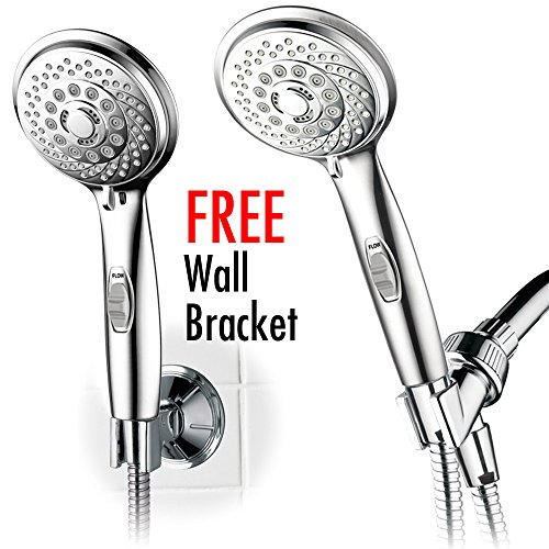 HotelSpa 7-setting AquaCare Series Spiral Handheld Shower Head Luxury