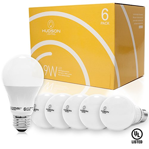 LED Light Bulbs 6 PACK - NON dimmable -