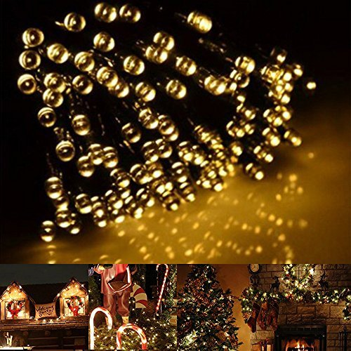 200LED Solar Outdoor Christmas String Lights - Xmas Decorations