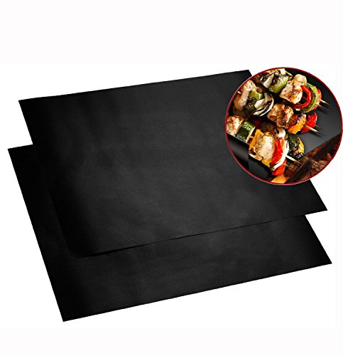 Non-stick Coated BBQ GRILL  OVEN MATS (Set of