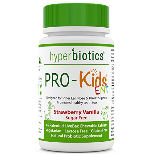 PRO-Kids ENT: Children\'s Oral Probiotics (Chewable  Sugar Free)