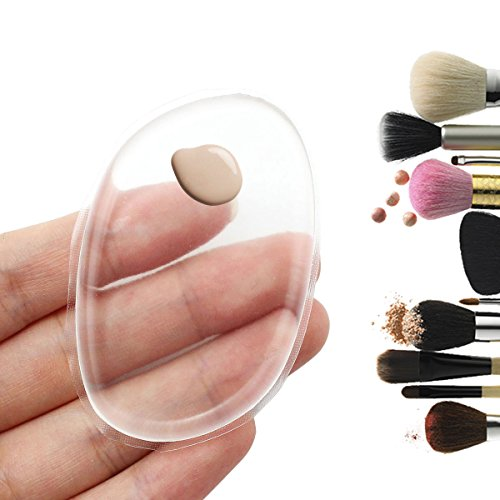Silicone Makeup Sponge,Silisponge Applicator Flawless Foundation Powder Puff Sponge