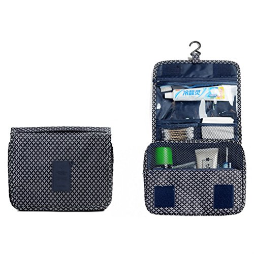 ITraveller Portable Hanging Toiletry Bag/Portable Travel Organizer Cosmetic Bag