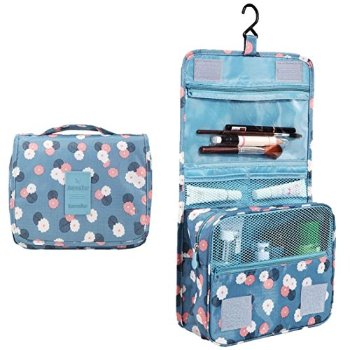 Itraveller Portable Hanging Toiletry Bag/ Portable Travel Organizer Cosmetic