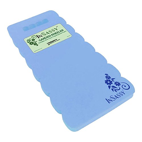 InSassy (TM) Garden Kneeler Wave Pad - High Density