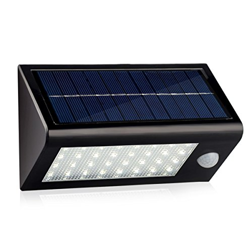 InnoGear Solar Powered Wall Light Sconces Nightlight Motion Sensor