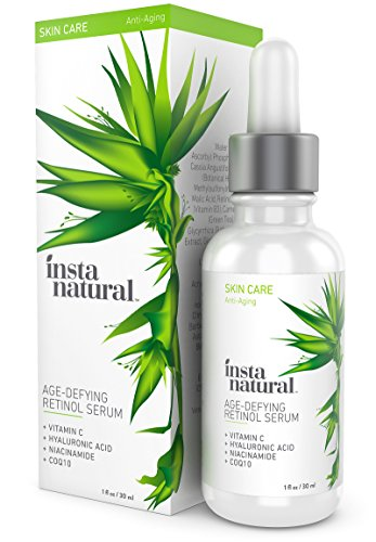 InstaNatural Retinol Serum - Anti Wrinkle Anti Aging Facial