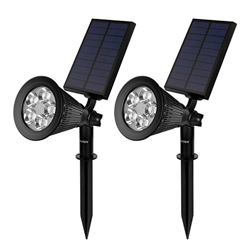 Intey Solar Spot Lights, 2 Models 200 Lumen Waterproof