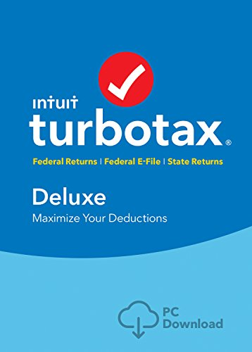 TurboTax Deluxe 2016 Tax Software Federal  State +