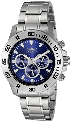 $104.74 Invicta Men's 21482 Specialty Analog Display Swiss Quartz Silver
