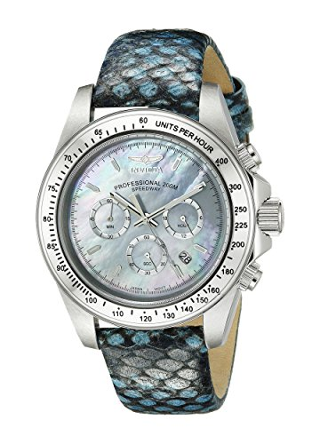 $99.99 Invicta Men's 18396 Speedway Analog Display Japanese Quartz Blue