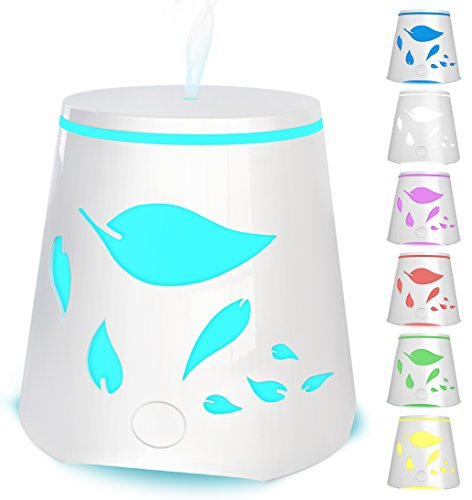 Aromatherapy Essential Oil Diffuser 7 Color Changing Led Lights