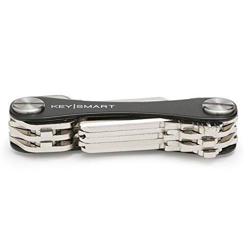 KeySmart - Compact Key Holder (2-10 Keys, Black)