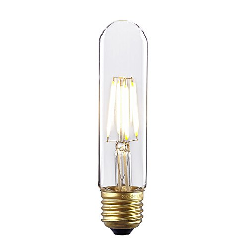 Kiven Tubular Dimmable Instant On Filament Led bulbs 4W