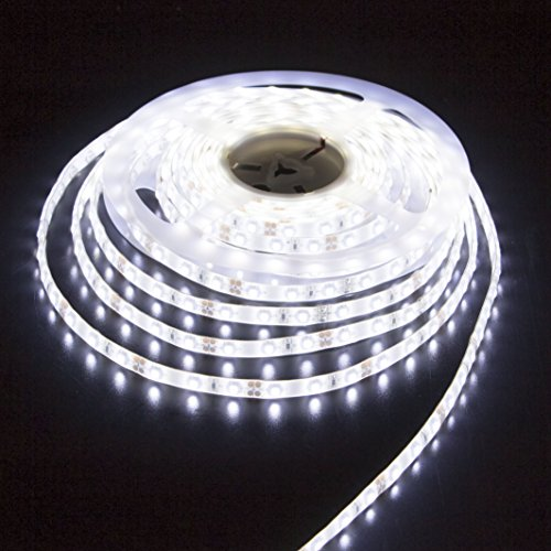 LEDMY® 5M/16.4Ft UL Listed DC12V SMD3528 Super Bright IP62