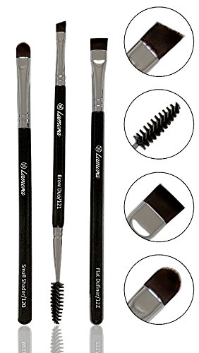 Eyebrow Brush - Duo Eye Brow Spoolie - Angled