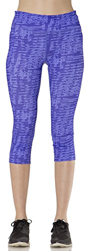 $28.00 (L3W421) Layer 8 Womens Performance Compression Capri Leggings in