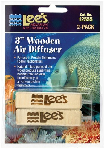 Lee's Wooden Air Diffuser, 3-Inch, 2-Pack