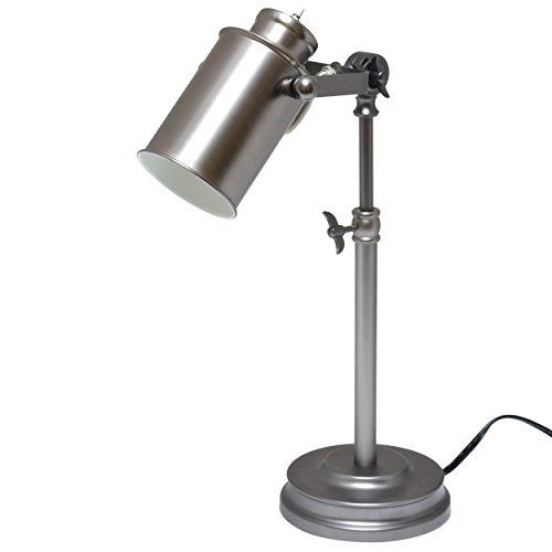 Light Accents Antique Style Metal Desk Lamp, Desk Light