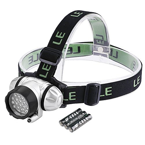 LE Headlamp LED, 4 Modes Headlight, Battery Powered Helmet