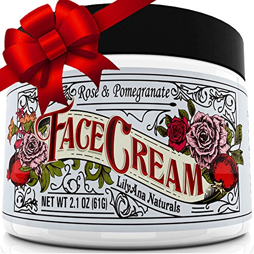 Face Cream Moisturizer (2oz) 95% Natural Anti Aging Skin