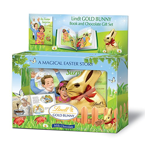 $28.99 Lindt Gold Bunny Milk Chocolate with Story Book, 3.5
