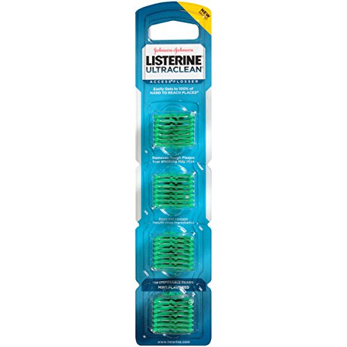 Listerine Ultra Clean Access Flosser Mint Refill Heads, 28