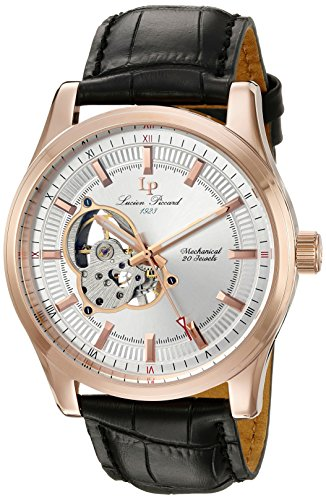 $125.12 Lucien Piccard Men's 40006M-RG-02S Morgana Analog Display Mechanical Hand