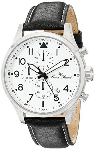 $79.36 Lucien Piccard Men's LP-13346-02 Peak Analog Display Japanese Quartz