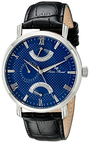 $84.40 Lucien Piccard Men's LP-10340-03 Verona Stainless Steel Watch with
