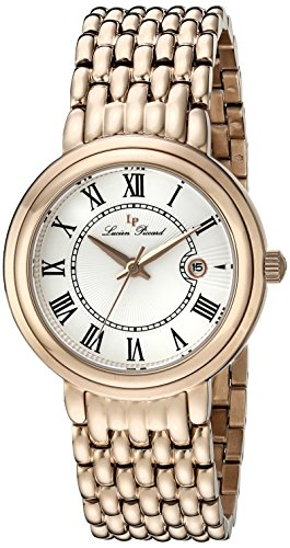 $94.15 Lucien Piccard Women's LP-16539-RG-22S Fantasia Rose Gold-Tone Stainless Steel