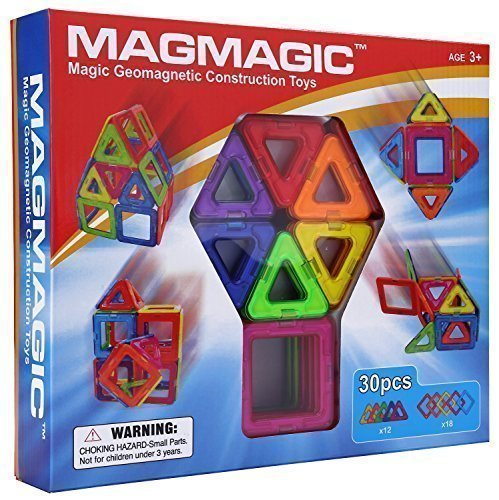$26.92 Magmagic Building Block Magnetic Toys, 30 Piece Starter Inspire