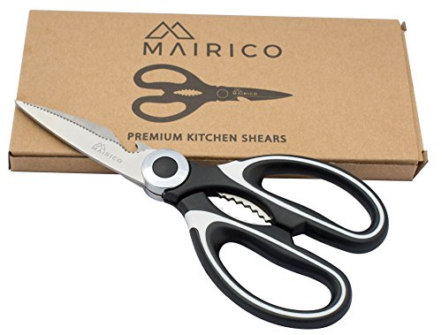 MAIRICO Ultra Sharp Premium Heavy Duty Kitchen Shears and