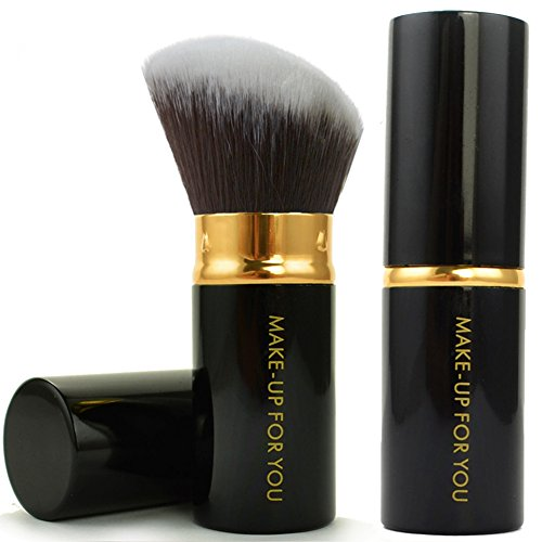 Aisxle Retractable Kabuki Brush - Incredibly Soft - Kabuki