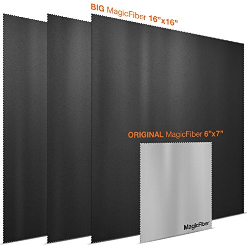 (TV/LAPTOP Pack) MagicFiber Microfiber Cleaning Cloths - Extra Large