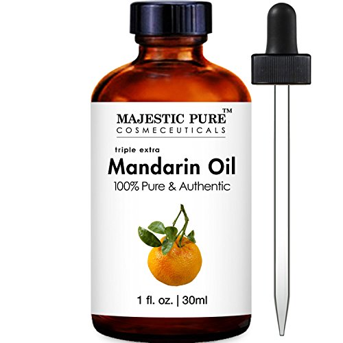 Majestic Pure Mandarin Orange Essential Oil, 100% Pure and