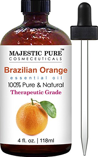 Brazilian Orange Essential Oil from Majestic Pure; 100% Pure