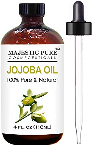 Majestic Pure Jojoba Oil for Hair, Skin or As