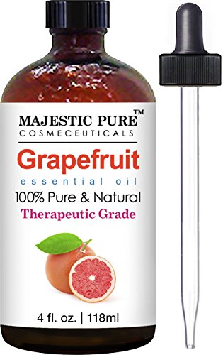 Grapefruit Essential Oil From Majestic Pure, Premium Quality Oil