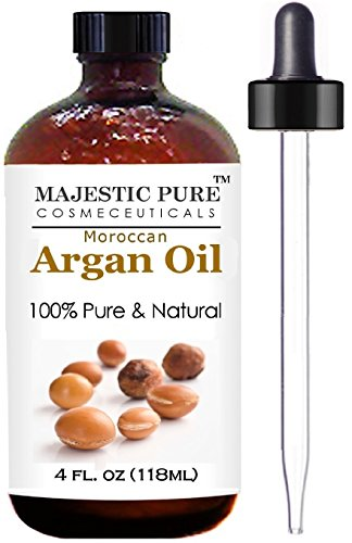 Moroccan Argan Oil for Hair and Skin From Majestic