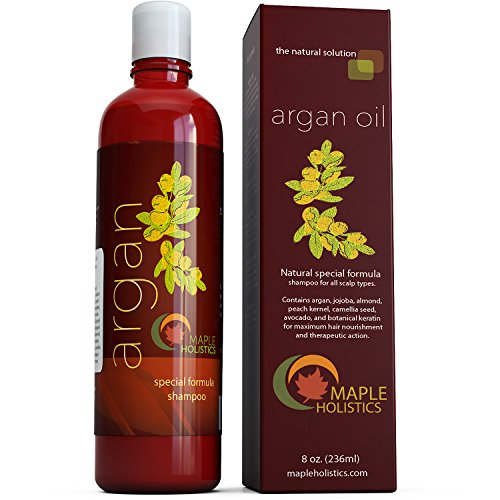 Argan Oil Shampoo, Sulfate Free, 8 oz. - With