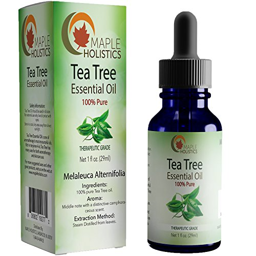 Pure Tea Tree Essential Oil - 100% Natural