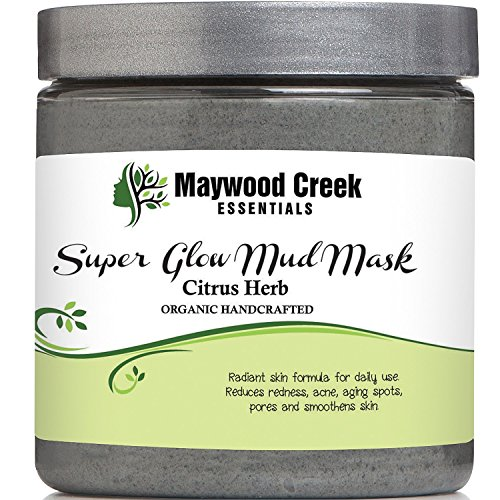 Facial Mud Mask Super Glow - Organic Ingredients -