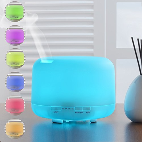 MECO 500 ml Essential Oil Diffuser for Aromatherapy Cool