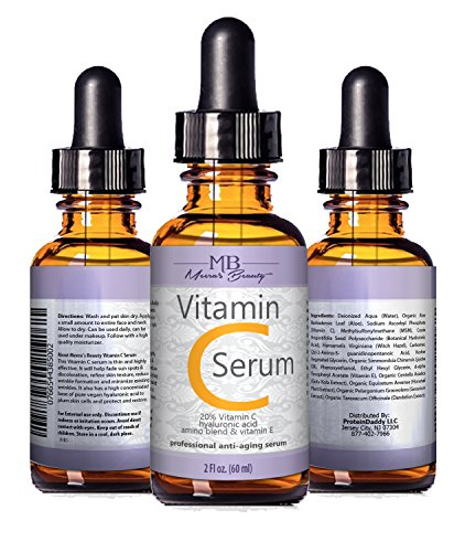 DOUBLE SIZED (2 oz) PURE VITAMIN C SERUM FOR
