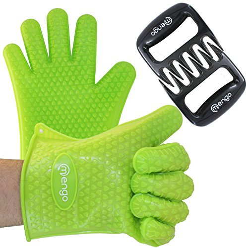 $24.99 Mengo BBQ Gloves  Claws, Heat-Resistant Silicon BBQ Grill