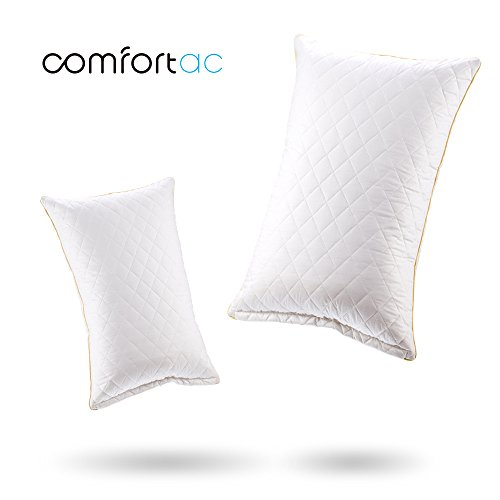 Shredded Memory Foam Pillow by Comfortac, Premium Memory Foam